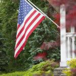 Hill N Dale Club american flag